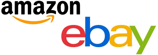 Amazon and Ebay logo